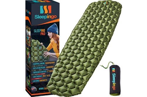 Best Sleeping Pads for Backpacking, Hiking Air Mattress