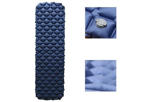 HuTools Sleeping Pad for Camping with Pillow