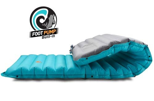 ZOOOBELIVES Extra Thickness Inflatable Sleeping Pad with Built-in Pump