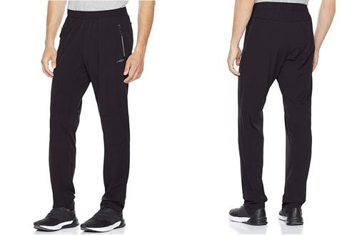 Trailside Supply Co.Men's Track Pants Stretchy Training Pants Lightweight Sweat Pants