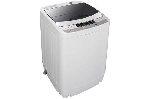 Full-Automatic Mini Multifunctional Washing Machine Portable Compact Design 10 LB Top Load