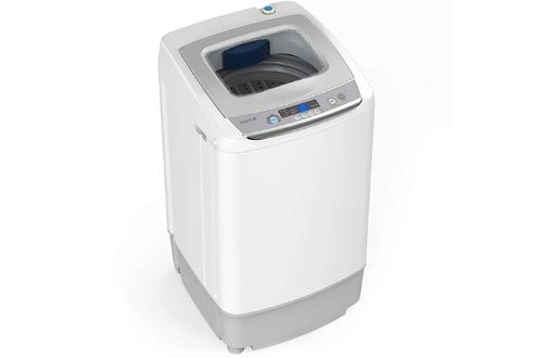 Portable Washing Machine - 9 Pound Capacity, Top Loading, 5 Wash Cycles, 3 Water Level Selections and LED Display