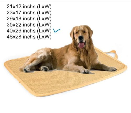 10.Kimi Homes Kennel Pad - Easy Cleaning Kennel Bed, Quick Drying Kennel Mat with Mesh Technology, Perfect Four Season Functions for Dogs, Cats and More