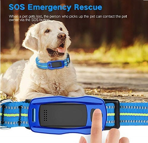 10.ZEERKEER Pet GPS Tracker, Dog GPS Tracking and pet Finder, The GPS Dog Collar Attachment, Locator Waterproof, Tracking Device for Dogs, Cats, Pets Activity Monitor