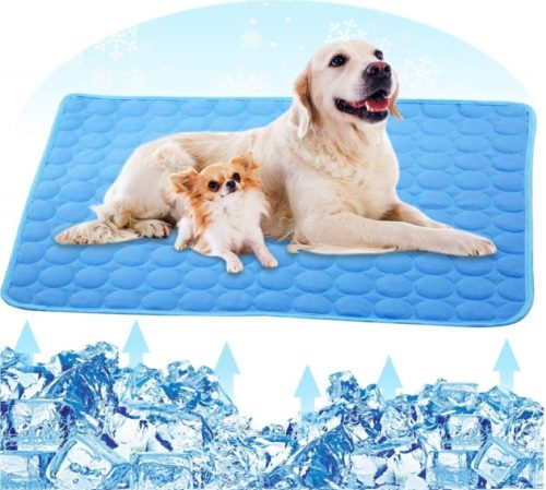 12.PETPLUS Dog Cooling Mat, Pet Cooling Pads for Dogs - Dog Mats Dog Accessories Dog Cooling Vest to Help Your Pet Stay Cool - Avoid Overheating, Ideal for Home & Travel