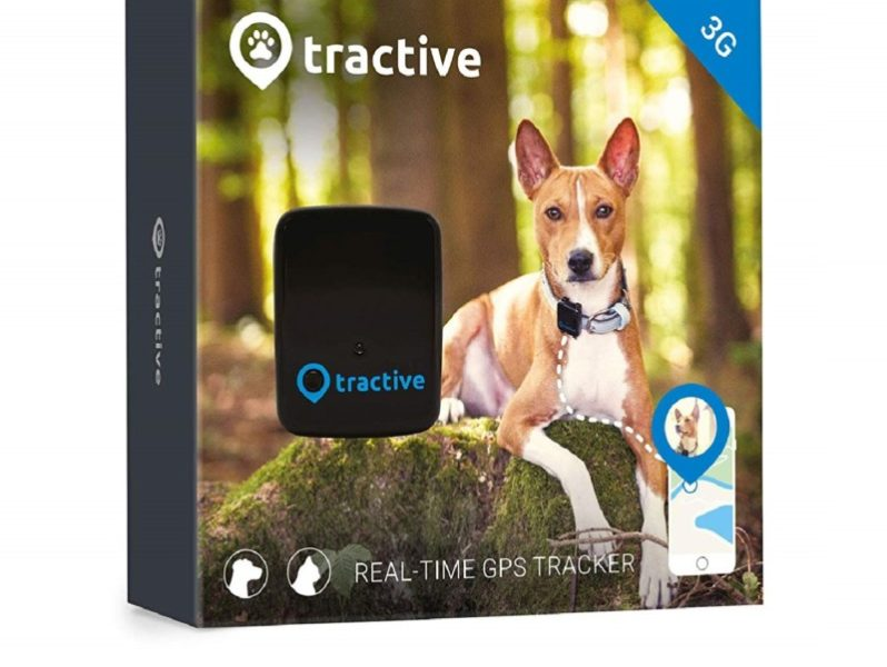 2.Tractive 3G Dog GPS Tracker – Lightweight and Waterproof Dog Tracking Device and pet Finder with Unlimited Range