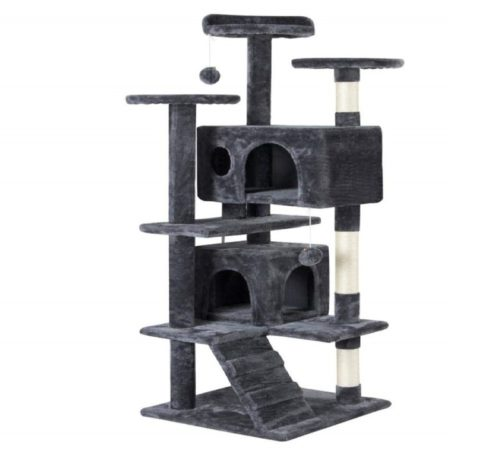 5.Yaheetech 51in Cat Tree Tower Condo Furniture Scratch Post for Kittens Pet House Play