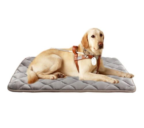 6.Furrybaby Dog Bed Mat Soft Crate Mat with Anti-Slip Bottom Machine Washable Pet Mattress for Dog Sleeping