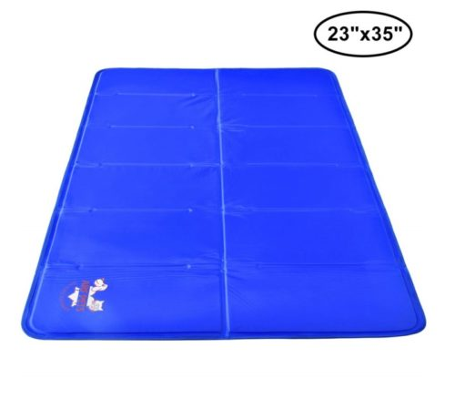9.Arf Pets Pet Dog Self Cooling Mat Pad for Kennels, Crates and Beds 23x35