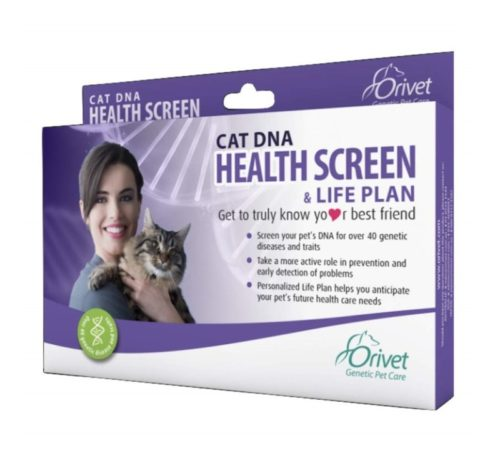 9.ORIVET Cat DNA Test Kit Health Screen with Life Plan