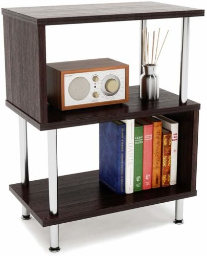 Bestier Side Table 3 Tier S-Shaped