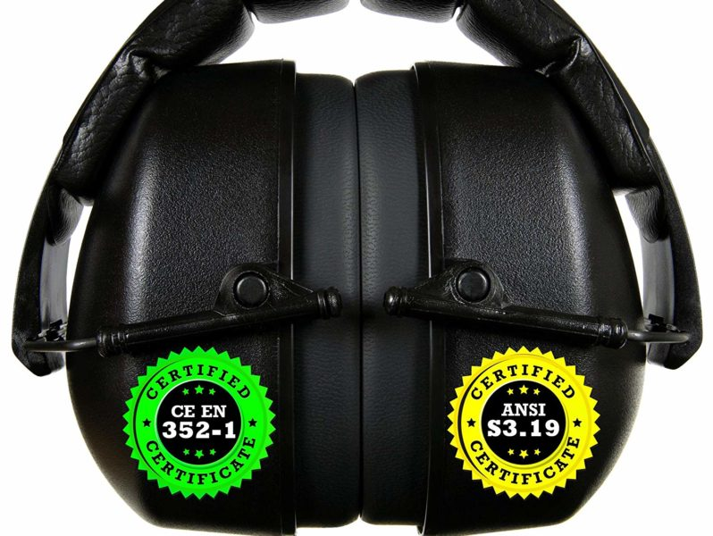 ClearArmor 141001 Shooters Hearing Protection Safety Ear