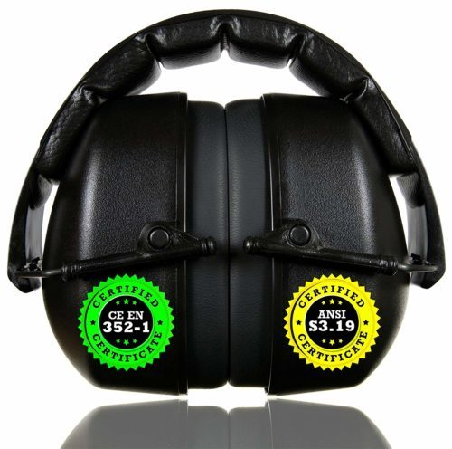 ClearArmor 141001 Shooters Hearing Protection Safety Ear-Noise Reduction Ear Muffs