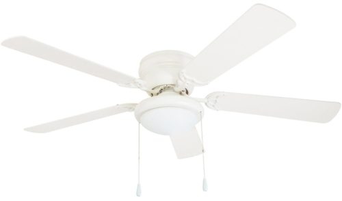"Portage Bay 50254 Hugger 52"" White West Hill Ceiling Fan"