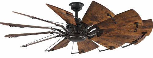 "Progress Lighting P250000-129 Springer Twelve-Blade 60"" Ceiling Fan"