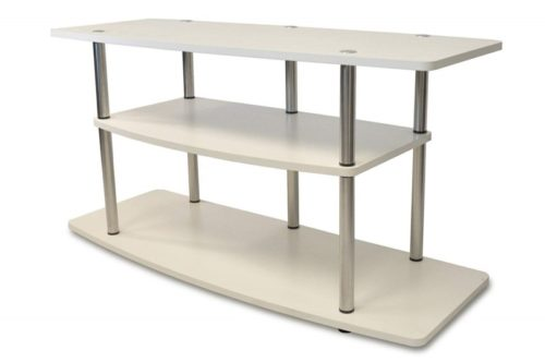 1.Convenience Concepts Designs2Go 3-Tier Wide TV Stand, White