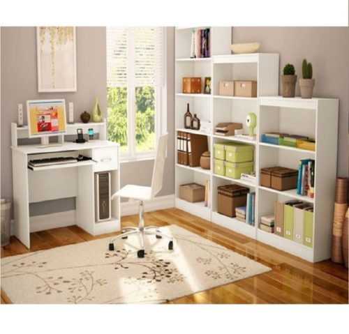 10.South Shore Study Table Desk Furniture, White