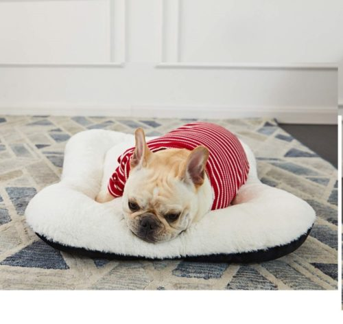 11.ANWA Dog Bed Pet Cushion Crate Mat Soft Pad Washable and Cozy for Medium Large Dog