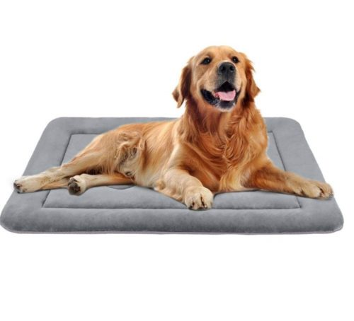 13.JoicyCo Dog Bed Crate Pad in Anti-Slip 100% Washable Dog Mattress Pets Kennel Pads