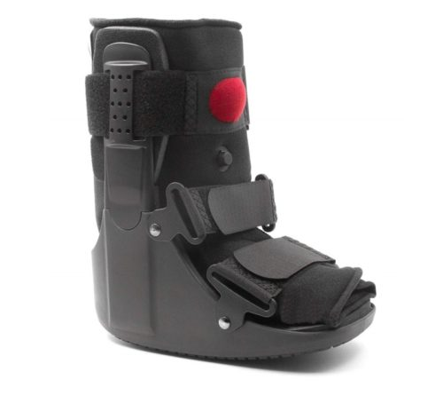 2.Premium Short Air Cam Walker Fracture Ankle Foot Stabilizer Boot - Small - by MARS Wellness