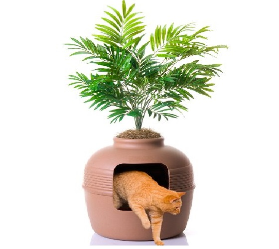 4.Good Pet Stuff Company Hidden Cat Litter Box