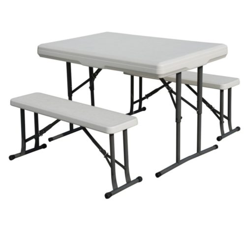 5.Stansport Heavy Duty Picnic Table and Bench Set