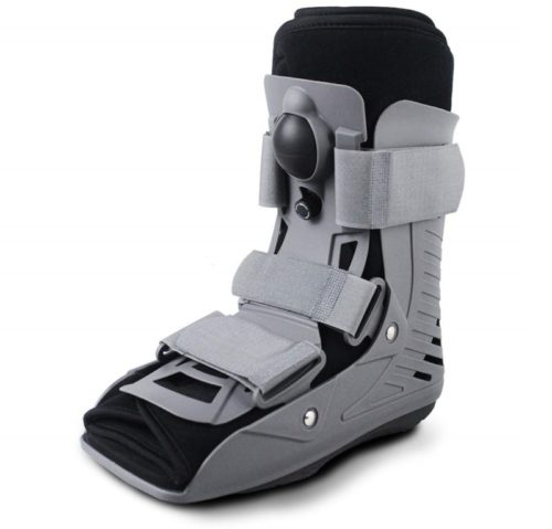 7.ExoArmor Walking Boot - Ultralight Design with Inflatable Liner. Short Rise (Small)