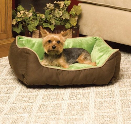 7.K&H Pet Products Self-Warming Lounge Sleeper Pet Bed
