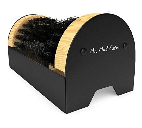 9.Mr. Mud Eater Boot Brush Cleaner Scraper - Floor Mount with Hardware Included for Indoor Outdoor Installation