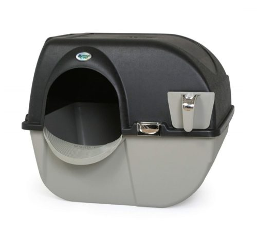 9.Omega Paw EL-RA20-1 Roll N Clean Self Separating Self Cleaning Litter Box