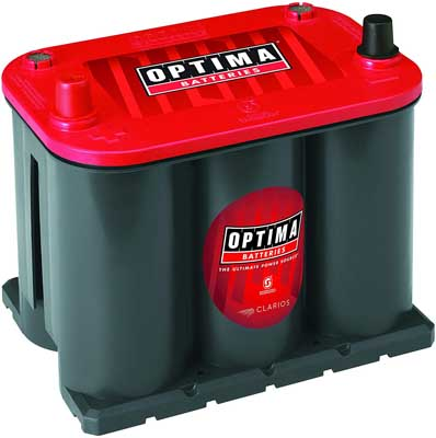 1. Starting Battery – Car Battery by Optima