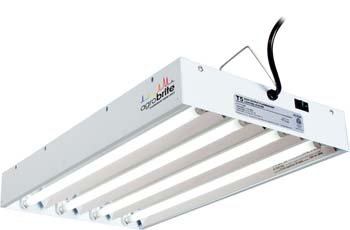 Hydrofarm Agrobrite FLT24 T5 Fluorescent Grow Light System