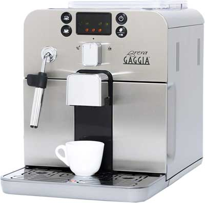 6. Automatic Espresso Machine - Pre-Ground or Whole Bean Coffee by Gaggia