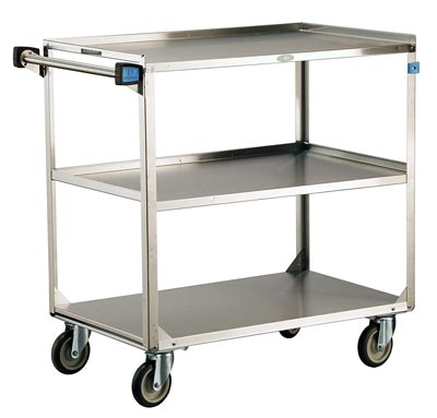 3 Shelves Stainless Steel
