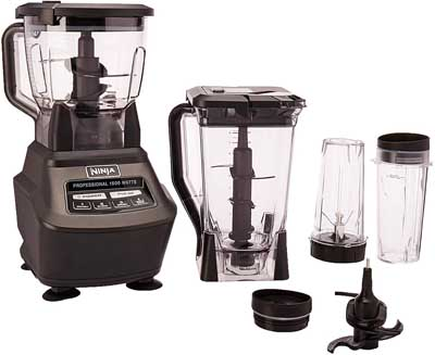 6. Food Processor 16oz Cup for Smoothies by Ninja