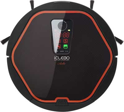 1. iClebo Robot Vacuum Cleaner for Carpet