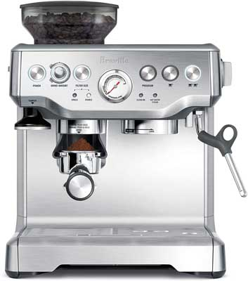 10. Barista Express Espresso Machine by Breville