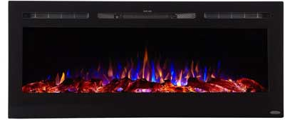 3. Touchstone Inserted Electric Fireplace