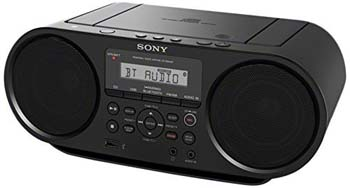 Sony Portable Bluetooth Digital Turner AM/FM CD Player