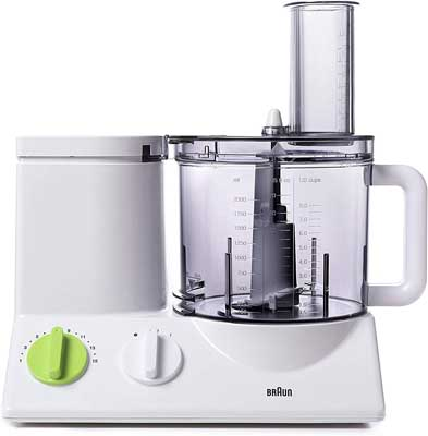 2. 12 Cup Food Processor Ultra Quiet Powerful Motor by Braun