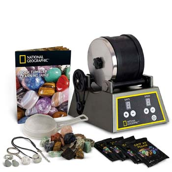 National Geographic Professional Rock Tumbler Kit