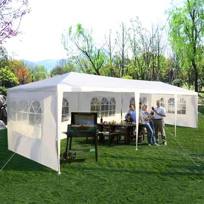 9. Tangkula Outdoor Party Tent