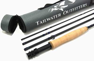 10. Toccoa Fly Rod with Rod Tube by Tailwater Outfitters