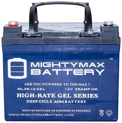 5. Rechargeable Gel Type Car Battery by Mighty Max Battery