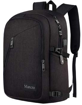 Mancro Anti-Theft Business Laptop Backpack