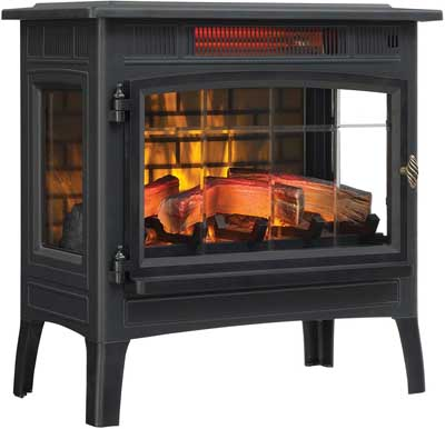 2. Duraflame 3D Infrared Electric Fireplace