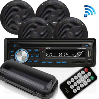 Pyle Wireless Bluetooth Marine Audio Stereo