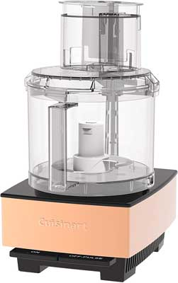 10. Food Processor Brushed Metal Series by Cuisinart