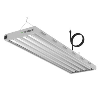VIVOSUN HO Fluorescent Grow Light Fixture