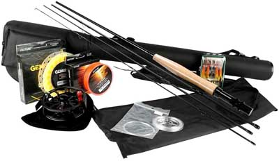 7. Fishing Full Kit with Rod Reel Line by Goture